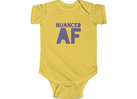 NUANCED AF - Baby Onesie