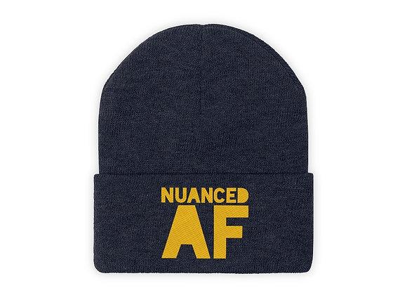 NUANCED AF - Knit Beanie