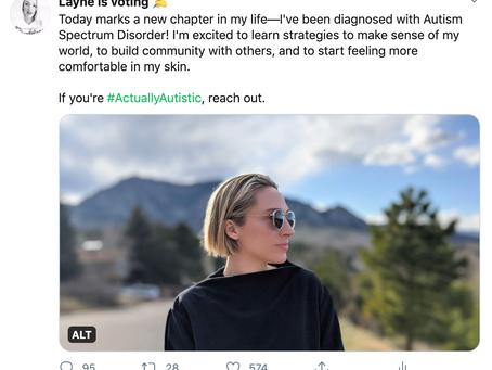 Autism Spectrum: My Diagnosis