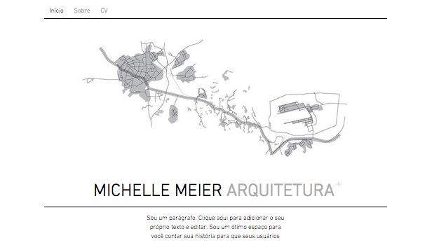 Design website templates – Portfólio de Arquitetura