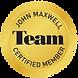 John Maxwell Certified Member Seal