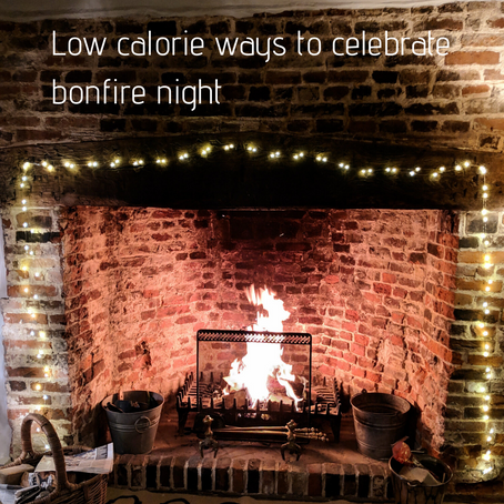 Low calorie ways to celebrate bonfire night
