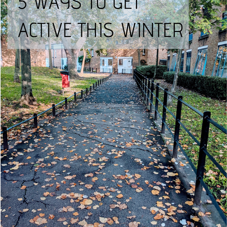 5 ways to get active this winter