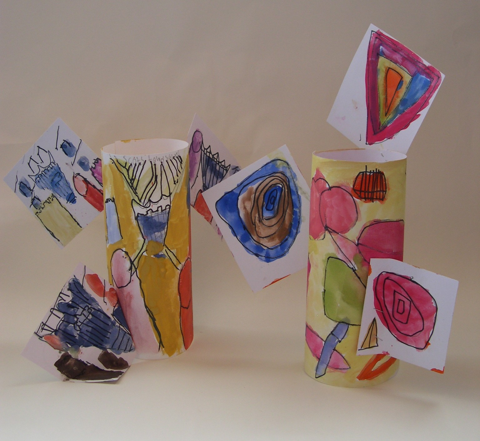 Card sculptures