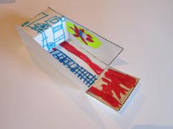 Landing craft model