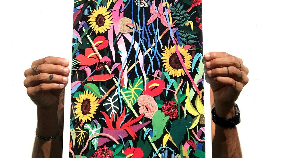 Flora Descontrolada / Print