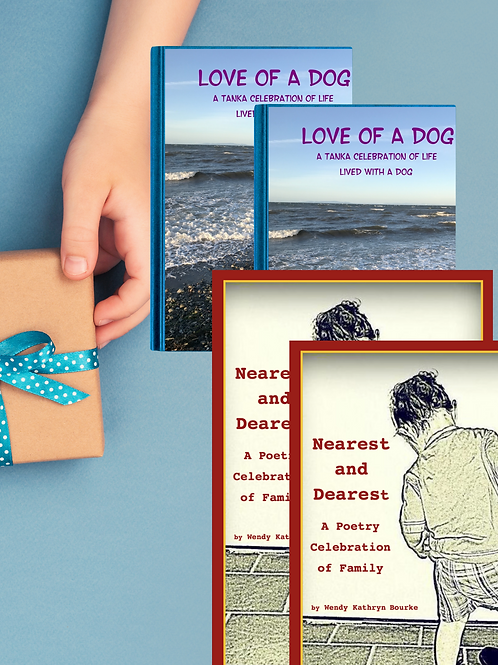 2 Sets of the Gift Set Nearest and Dearest & Love of a Dog