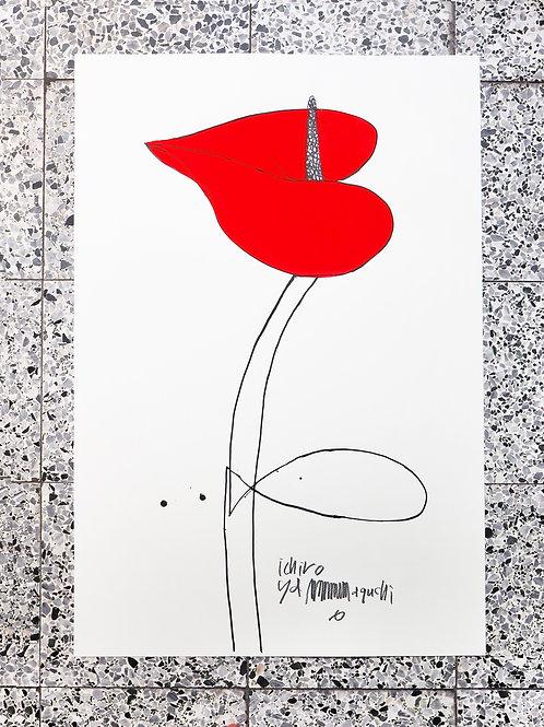 花系列34 /山口一郎 原畫作品