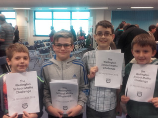 Wellington School Maths Challenge