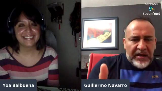 Charla con Amenic Mc Poétika y Guillermo Navarro