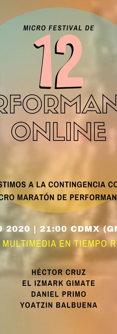 12a Edición del Micro Festival de Perfor