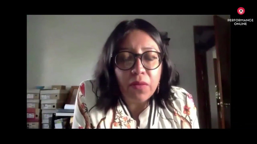 SESIÓN 4 DEL SEMINARIO PERFORMÁTICO SABES QUE ESTOY AQUÍ A CARGO DEL COLECTIVO PUNTA COMETA