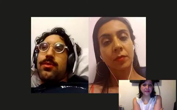 Charla con Gastón Artigas y Agustina Suárez