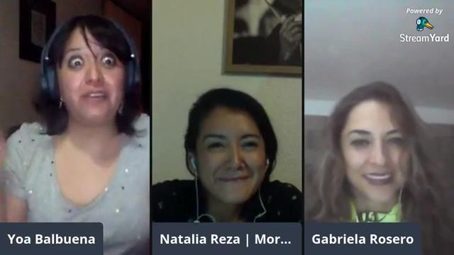 Charla con Natalia Reza y Gabriela Rosero