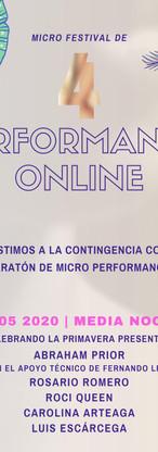 4a Edición del Micro Festival de Perform