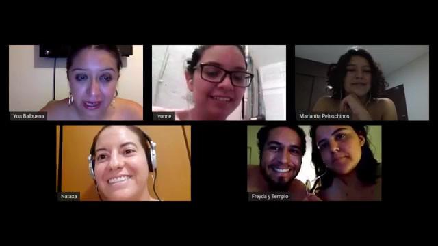 Charla sobre preformance y censura, con el Grupo de performance de Guanajuato