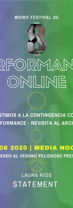 8a Edición del Micro Festival de Perform