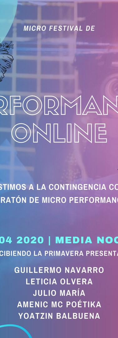 1a Edición del Micro Festival de Perform