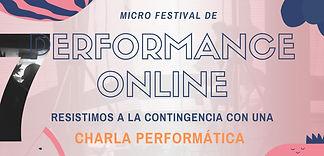 7a Edición del MIcro Festival de Perform
