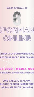6a Edición del Micro Festival de Perform