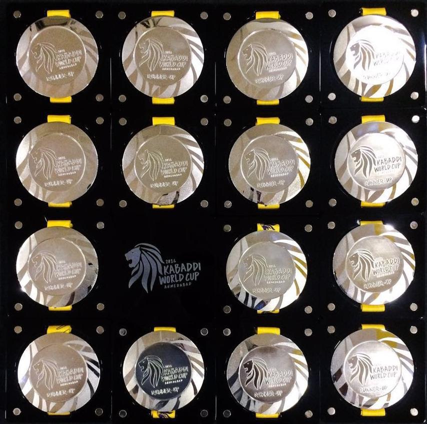 Pro Kabaddi Medals