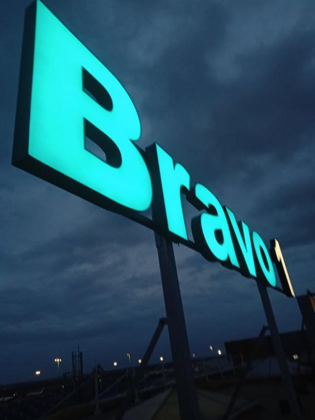 BIAL Bravo - 1 Signage