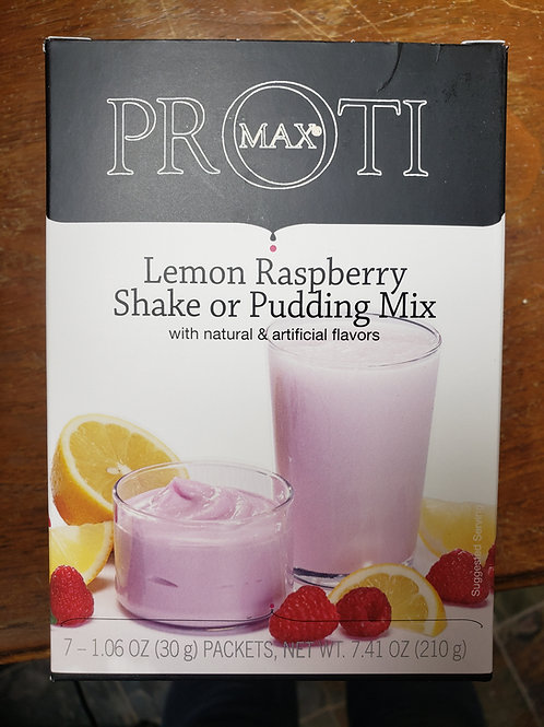 Proti-Lemon Raspberry Shake/Pudding