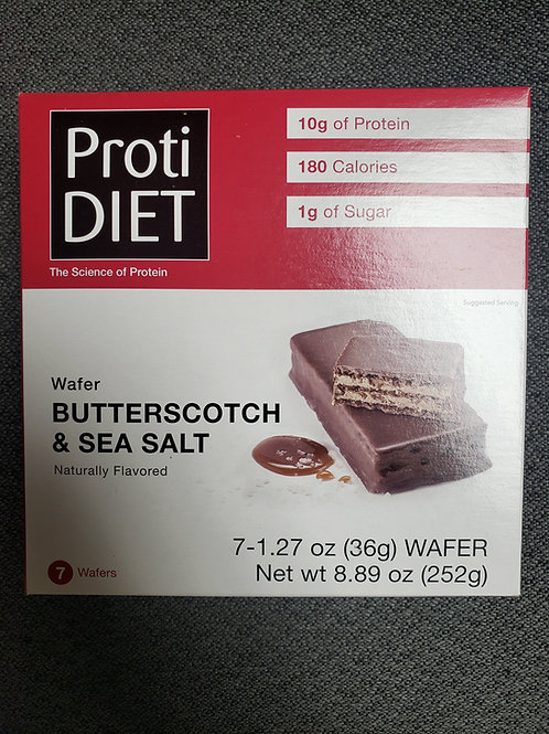BUtterScotch & Sea Salt Wafer
