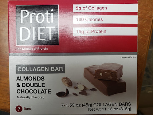 Almonds/double Chocolate Collagen protein BAR