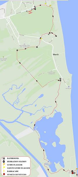 Cape Henlopen Marathon Route.png