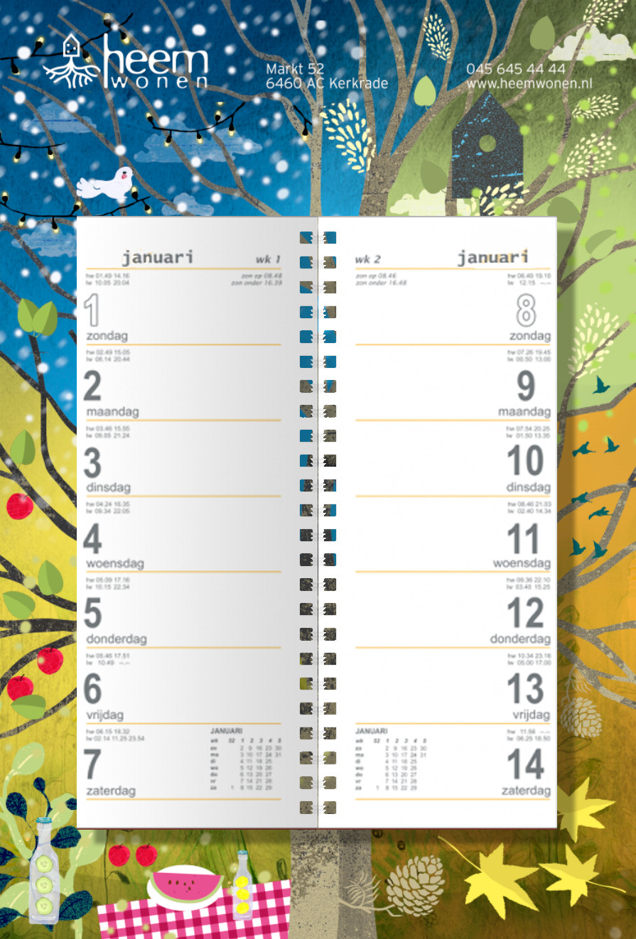Illustration Calendar