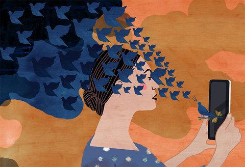Negative infuence social media