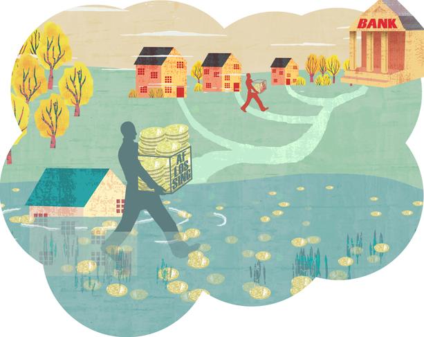 Housing market underwater