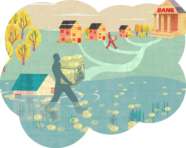 Housing market under water