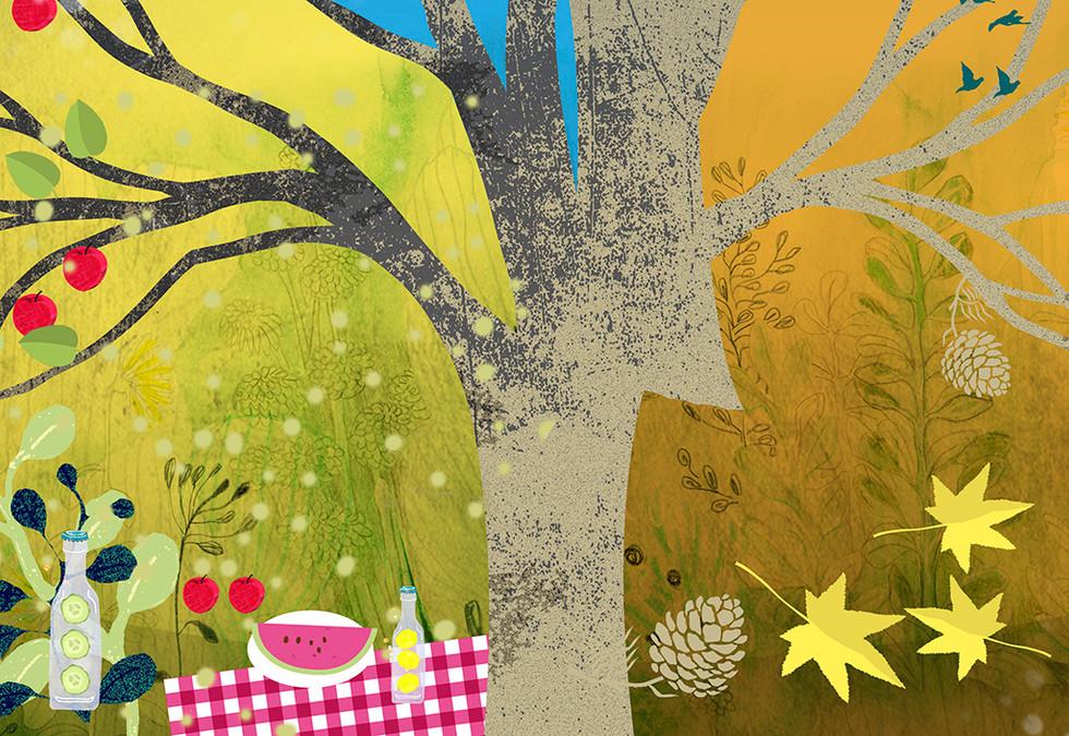 Detail illustration Calendar