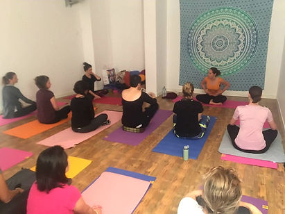 cours yoga bulko hatha johanna lyon