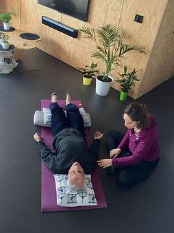 yoga lyon domicile particuliers johanna