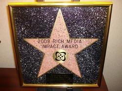 Rich Media Impact Award - 2008