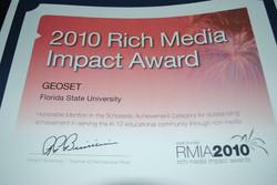 Rich Media Impact Award - 2010