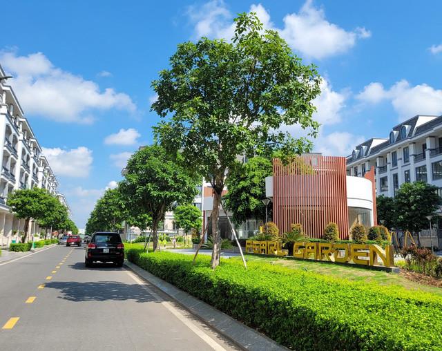 Công viên nội khu Pearl Garden - Khu đô thị Vạn Phúc