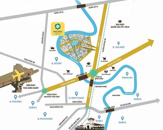 🔰 VẠN PHÚC CITY - KIỆT TÁC VÀNG BÊN SÔNG SÀI GÒN🔰 Địa chỉ: QL 13, P. Hiệp Bình Phước, Tp.Thủ Đức