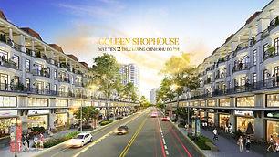 Nhà phố thương mại hạng sang Vạn Phúc Golden thiết kế mặt tiền sở hữu không gian kinh doanh đẳng cấp