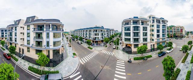 Pearl Garden - Khu nhà phố sang trọng tại Khu đô thị Vạn Phúc
