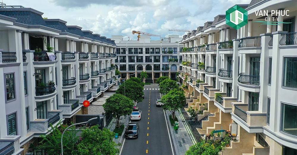Nhà phố tại Khu đô thị Vạn Phúc - Van Phuc City