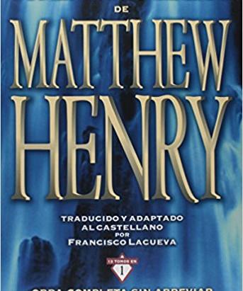 Comentario Biblico Matthew Henry (PDF)
