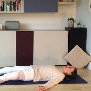 Press RESET | 5 mins gentle yoga | Consuelo Yoga
