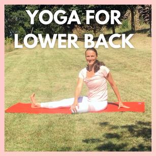 Yoga for lower back pain | 15mins