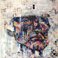 Antonio, 2020, Acrílico sobre lienzo,120 x 100 cm