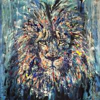 Circo, 2019, acrílico sobre lienzo, 175 x 125 cm
