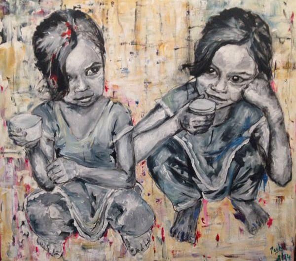 Mabel, 2014, Acrílico sobre lienzo  90 x